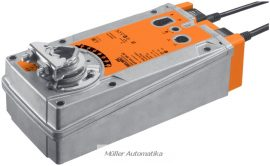 BELIMO EF24A-SR-S2 30N-os 24V-os 0..10V vezérlésű zsalumozgató rugóvisszatérítéssel max 6 m2 zsalufelületig beépített állásvisszajelző kapcsolóval