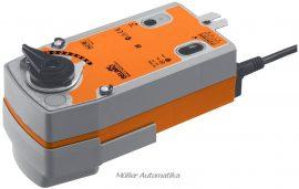 BELIMO NRF24A-SZ 24V-os 0..10V vezérlésű golyóscsap hajtómű DN50-ig rugóvisszatérítéssel