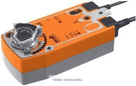 BELIMO SF24A-S2 20N-os 24V-os zsalumozgató rugóvisszatérítéssel max 4 m2 zsalufelületig beépített állásvisszajelző kapcsolóval