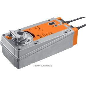 BELIMO EF230A-S2 30N-os 230V-os zsalumozgató rugóvisszatérítéssel max 6 m2 zsalufelületig beépített állásvisszajelző kapcsolóval