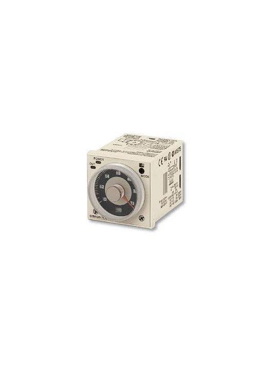 H3CR-A8 AC100-240/DC100-125 előlapba építhető időzítő 8-lábú csatlakozóval NPN