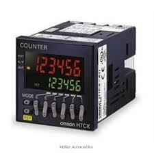 H7CXA-11-D1N-12-24VDC-24VAC előre beállítható 6-számjegyes 1-szintű számláló 11-lábú csatlakozás