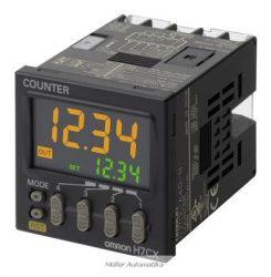 H7CXA-4DN-12-24VDC előre beállítható 4-számjegyes 1-szintű számláló csavaros bekötéssel