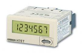 OMRON H7ET-xx üzemóraszámláló max. 0,0h-3999d23.9h