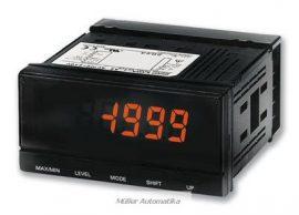 OMRON K3MA-J-A2 digitális folyamatmegjelenítő kétszínű panelműszer