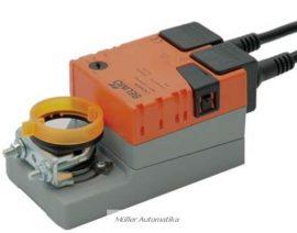 BELIMO LM230A-S 5N-os 230V-os zsalumozgató max 1m2 zsalufelületig beépített állásvisszajelző kapcsolóval
