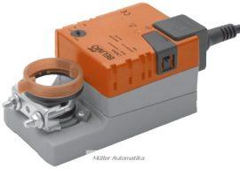 BELIMO LM24A-S 5N-os 24V-os zsalumozgató max 1m2 zsalufelületig beépített állásvisszajelző kapcsolóval