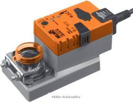 BELIMO LMQ24A-SR 4N-os szupergyorsjárású (2,5 sec) 24V-os 0..10V vezérlésű zsalumozgató max 0,8m2 zsalufelületig