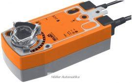 BELIMO NF24A-SZ-S2 10N-os 24V-os 0..10V vezérlésű zsalumozgató rugóvisszatérítéssel max 2m2 zsalufelületig beépített állásvisszajelző kapcsolóval