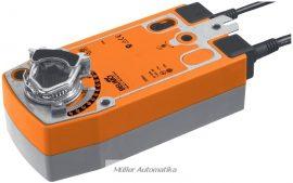 BELIMO NFA-S2 10N-os 24..240V-os zsalumozgató rugóvisszatérítéssel max 2m2 zsalufelületig beépített állásvisszajelző kapcsolóval