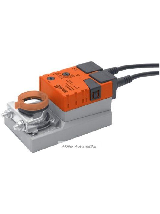 BELIMO NM230A-S 10N-os 230V-os zsalumozgató max 2m2 zsalufelületig beépített állásvisszajelző kapcsolóval