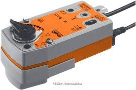 BELIMO NRF24A-SZ-S2 24V-os 0..10V vezérlésű golyóscsap hajtómű DN50-ig rugóvisszatérítéssel beépített állásvisszajelző kapcsolóval