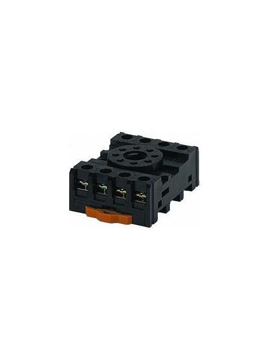 PF083A-E 8-lábú normál DIN-es foglalat