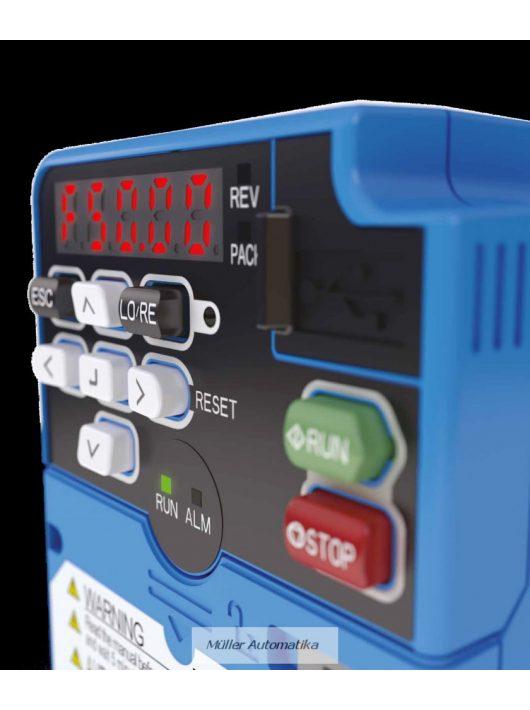 Q2V-A4018 AAA 400V HD 5,5kW(14,8A)/ ND 7,5kW(17,5A) OMRON Frekvenciaváltó