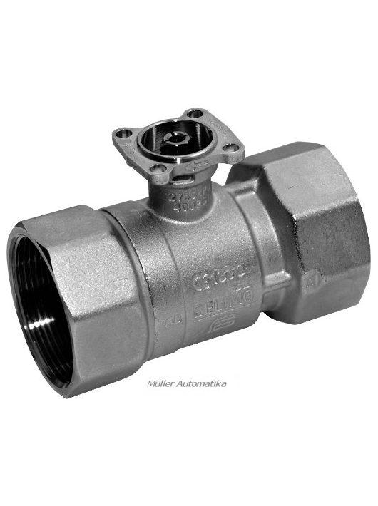 """R2015-xx-S1 DN15 (1/2"""") 1-utú szabályozós belsőmenetes golyóscsap Kvs:0,25-6,3"""