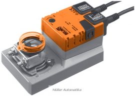 BELIMO SM230A-S 20N-os 230V-os zsalumozgató max 4m2 zsalufelületig beépített állásvisszajelző kapcsolóval