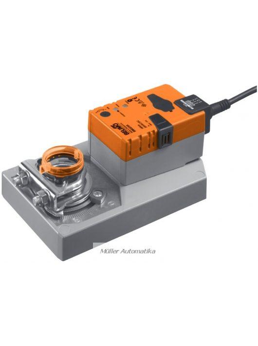 BELIMO SMQ24A-SR 16N-os szupergyorsjárású (7 sec) 24V-os 0..10V vezérlésű zsalumozgató max 3,2m2 zsalufelületig