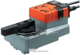 BELIMO SR230A-S 230V-os golyóscsap hajtómű DN50-ig beépített állásvisszajelző kapcsolóval