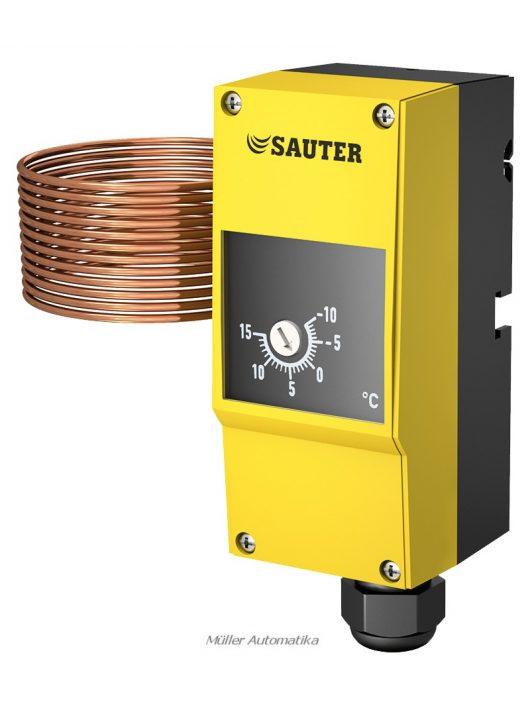Sauter TFL201F602 fagyvédő termosztát -5..+15C 6fm kapillárcsővel